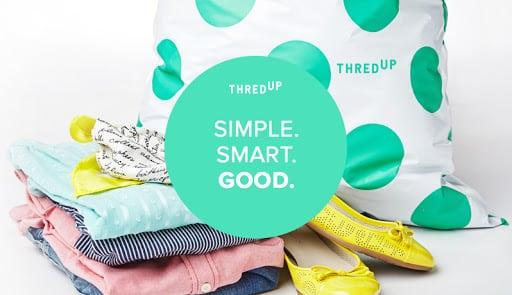 Thredup bag of clothing