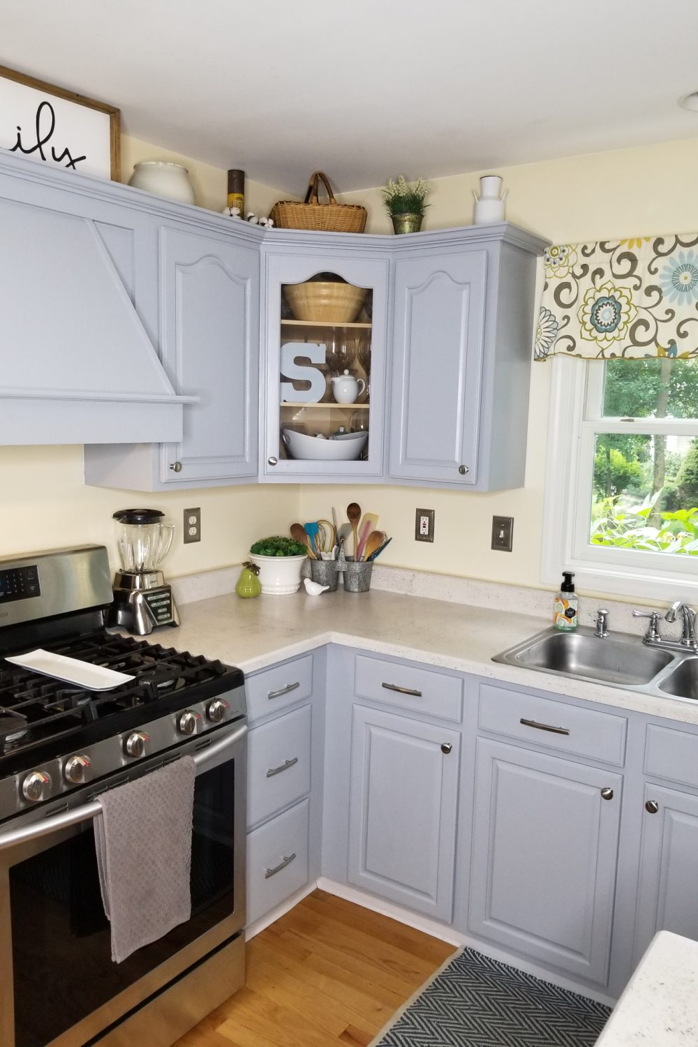 Kitchen Makeover after using Daich Spreadstone Finishing Kit