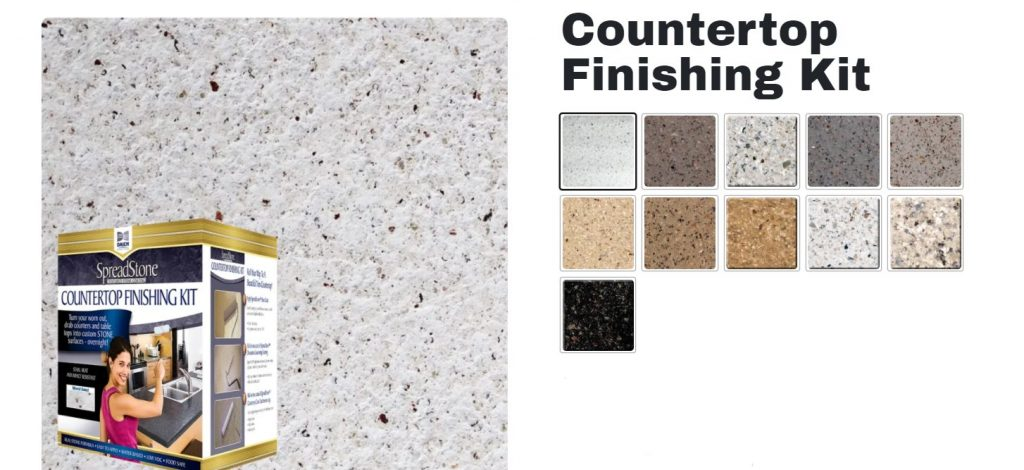 Daich Spreadstone Finishing Kit Color Options for Kitchen Countertops