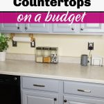 DIY Stone Countertops on a budget