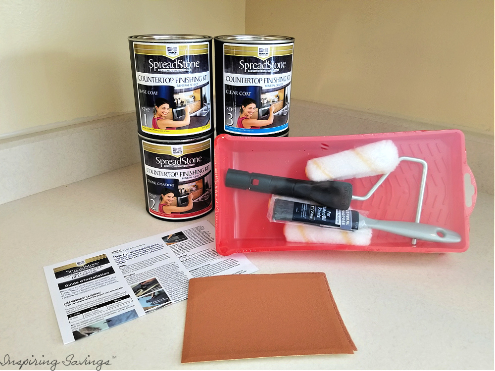 SpreadStone Counter Top Finishing Kit