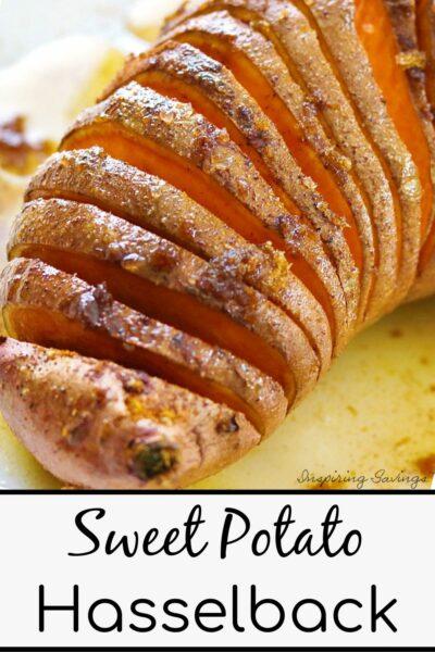 Sweet Potato Hasselback