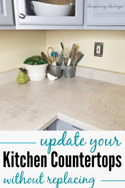 update your kitchen Coupontertops without replacing them