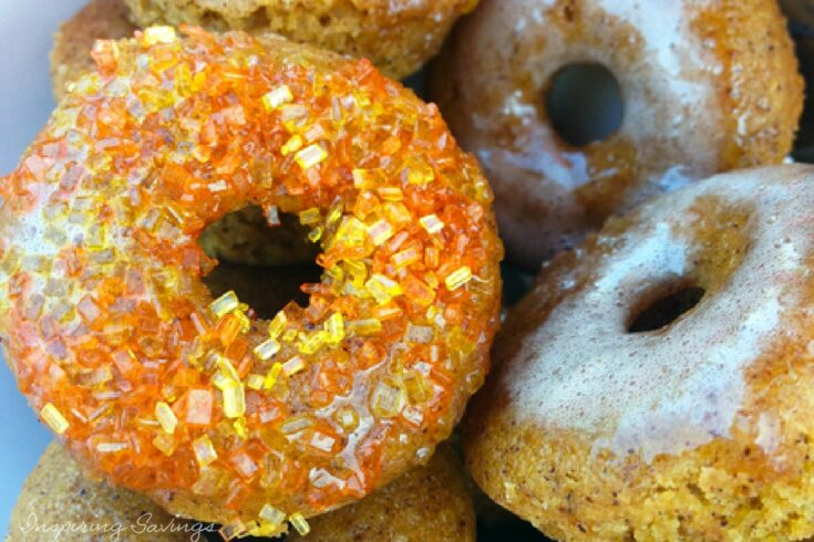 Baked Donuts Pumpkin Spice Done