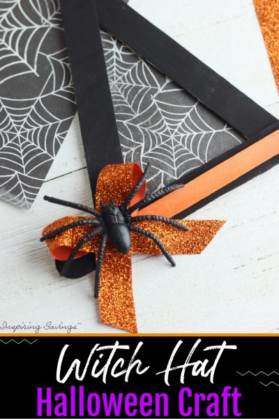 Witch Hat Halloween Craft