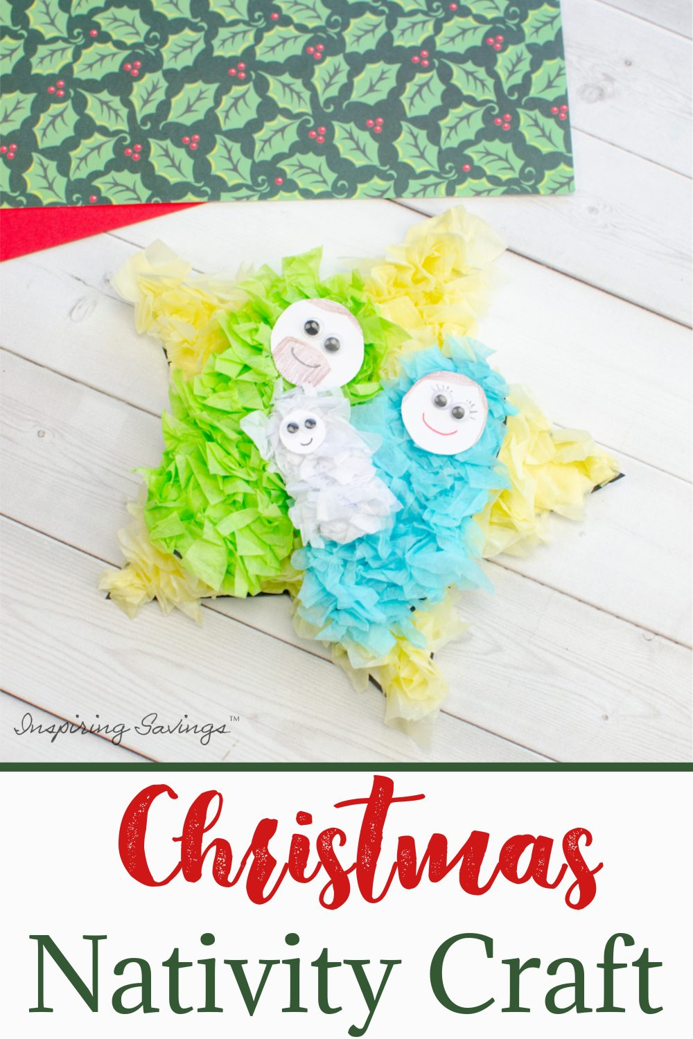 Christmas Nativity Scene Craft