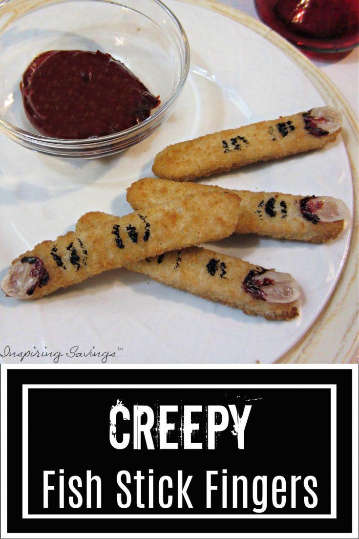 Creepy Fish Stick Fingers