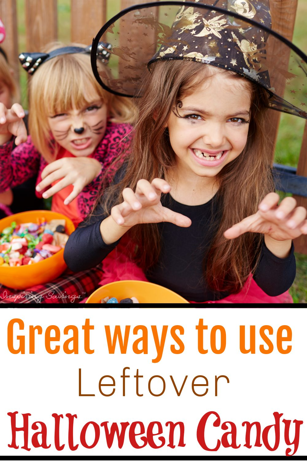 The buildup to Halloween can be pretty exciting for both kids and adults. But with trick-or-treating comes the overflow of candy. Here are some great ideas that are frugal and fun to use up that leftover halloween candy.