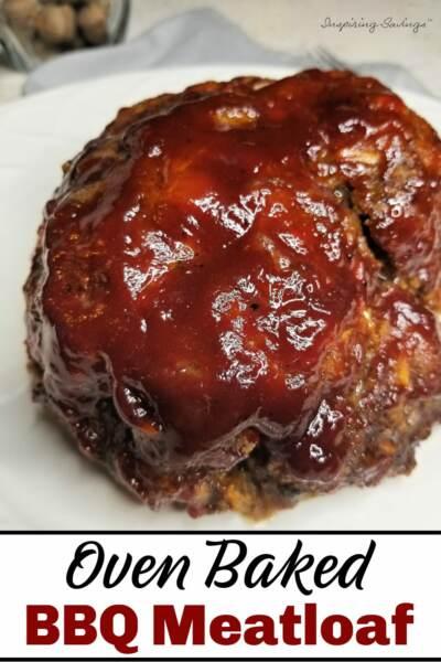 Oven Baked BBQ Meatloaf