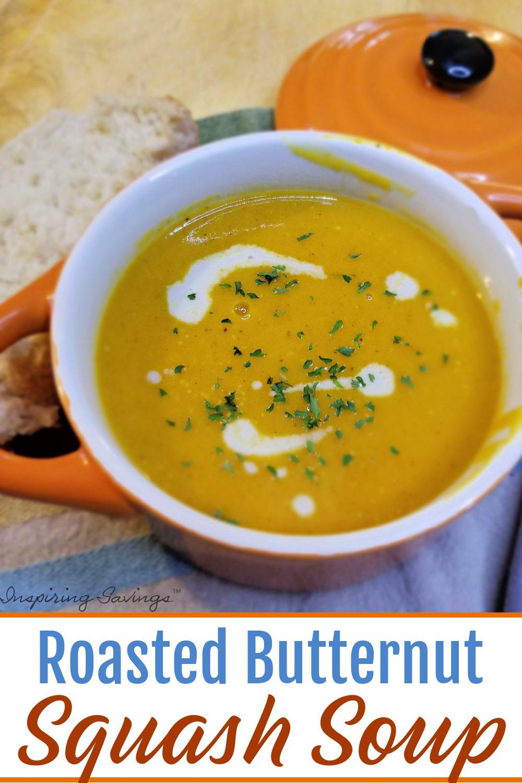 Roasted Butternut Squash Soap in orange crock