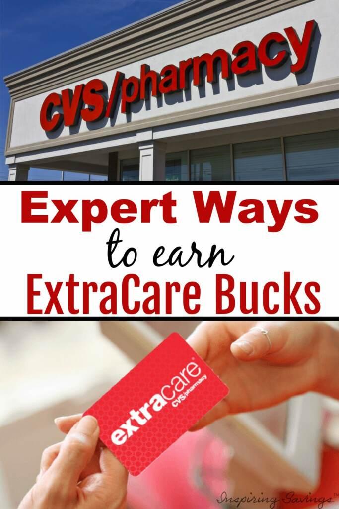 CVS pharmacy - expert wats to save  earn Free extracare bucks