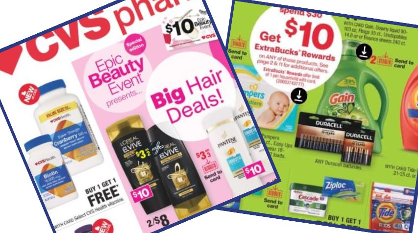 CVS Weekly ad and deals - ExtraCare Bucks