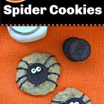 Spooky Spider Oreo Halloween Cookies