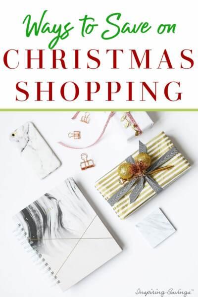 Ways to save on Christmas shopping