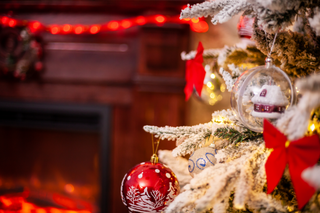 decorating for Christmas - keeping it simple to help reduce the stress