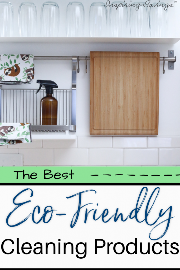 Eco-cleaning in kitchen