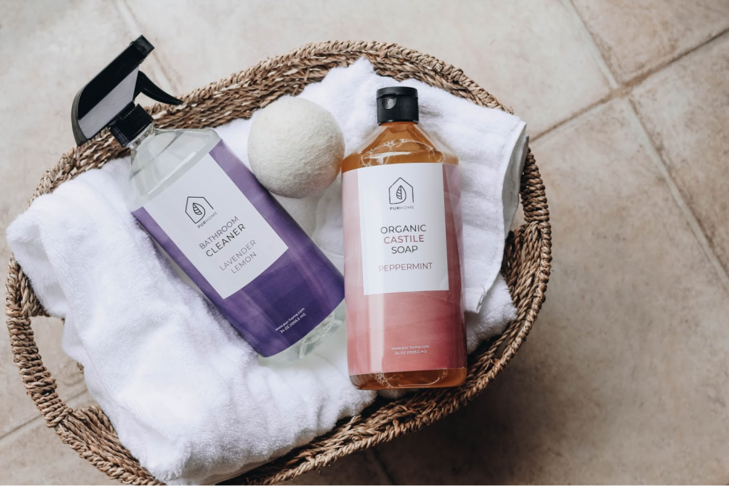Pur home Products - eco-friendly cleaners