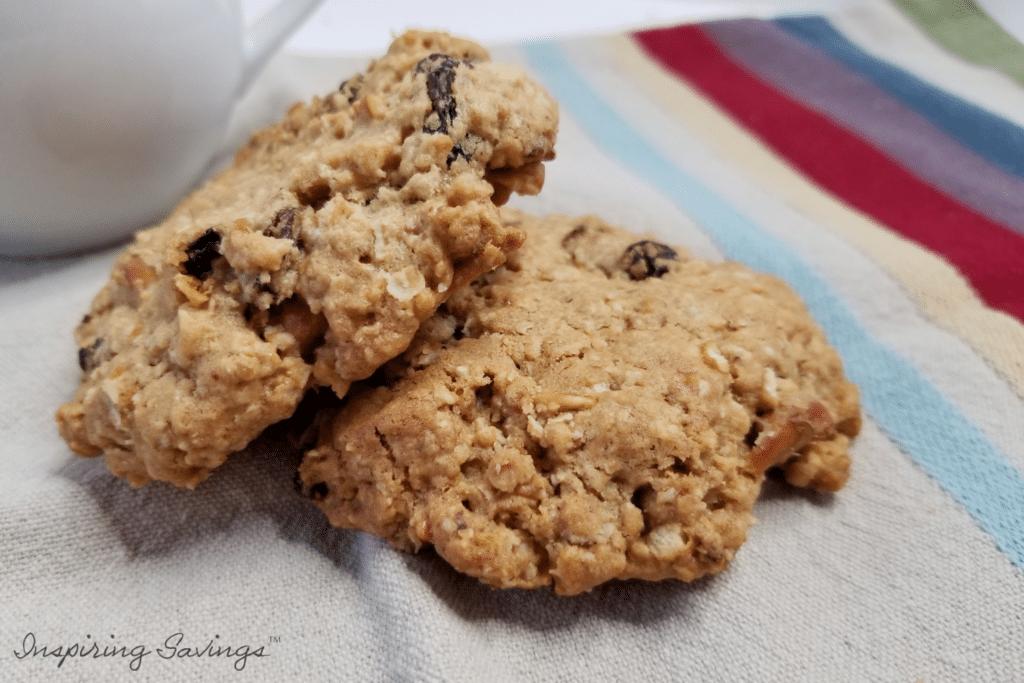 Salty Sweet Oatmeal Cookies