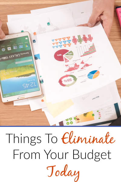 Eliminate from budget