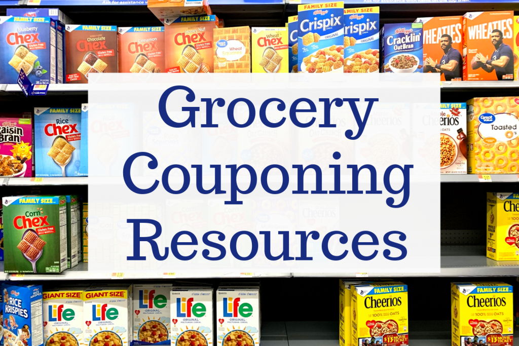 Grocery Couponing resources on Inspiring Savings