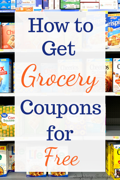How to get grocery coupons for free