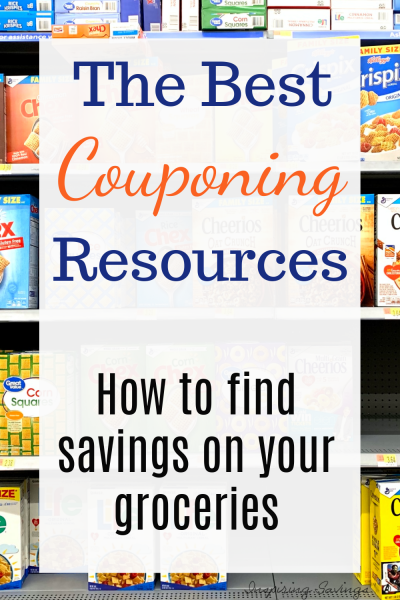 The best couponing resources
