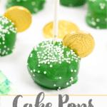 Cake Pops St patricks day