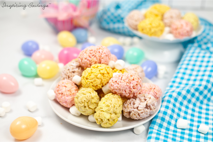 Easter Rice Krispies Egg Treats Recipe
