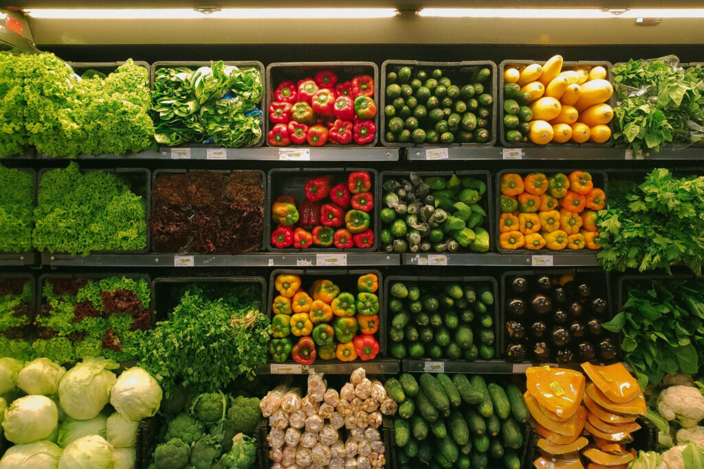 produce section at grocery store - big secret to savings at the grocery store