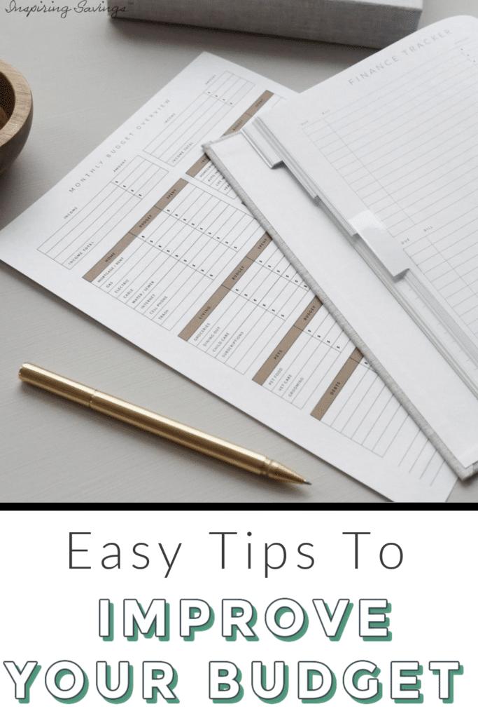 Finance tracker - improve your budget overnight