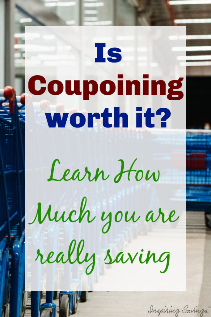 Does couponing really add up