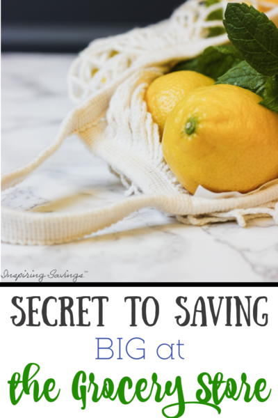 Secret to saving Big at the grocery store