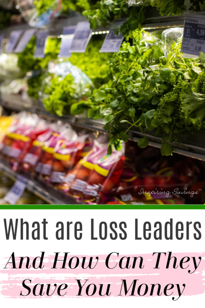 Produce section of grocery store - loss leaders