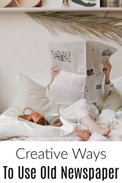 Creative ways newspaper