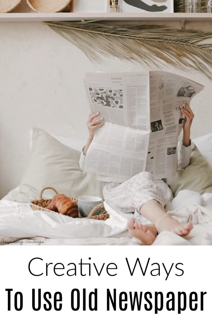Ways to Reuse Old Newspapers