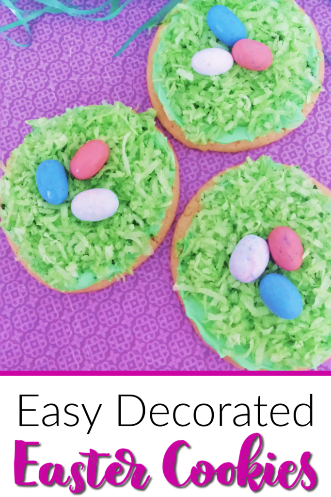 Easy Decorated Easter Cookies