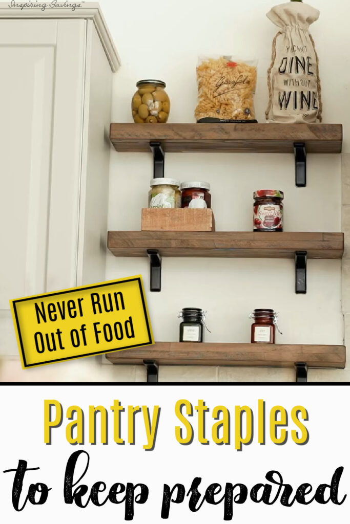 Pantry Staples - Items You Should Have on Hand