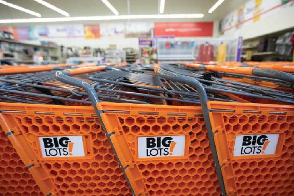 Big Lots Store Carts