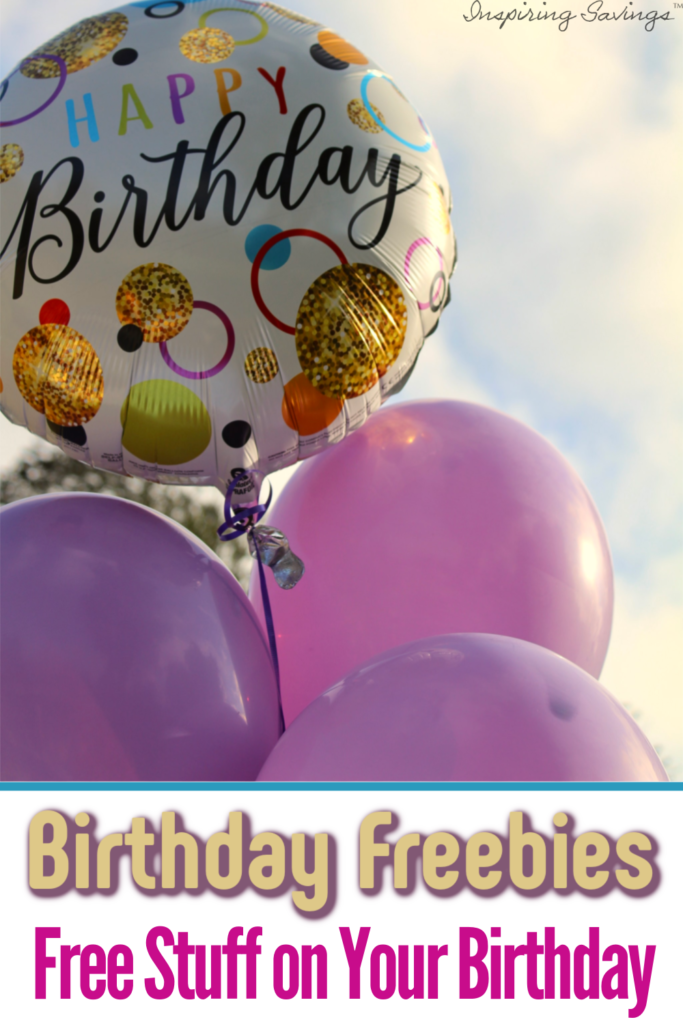 Want to know how to get free stuff on your birthday? Check out this mega list of birthday freebies so you can get free makeup, free stuff for your kids, eat of free at restaurants and more.
