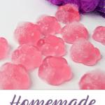 Homemade Shower Jellies