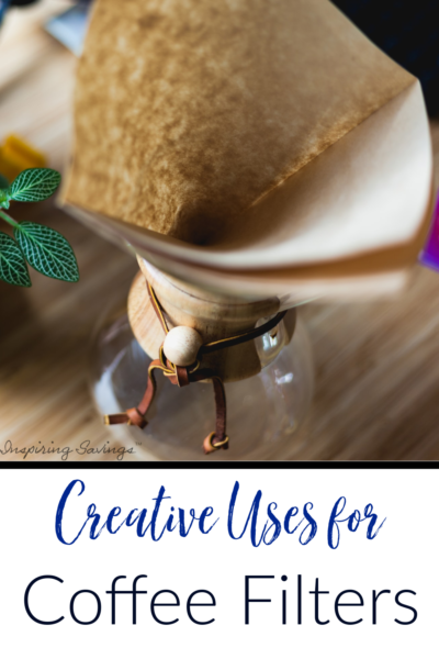 Creative Uses for coffee Filters