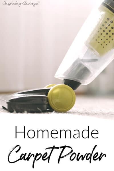 Homemade Carpet Powder