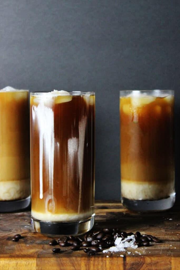 Iced Sea Salt Coffee