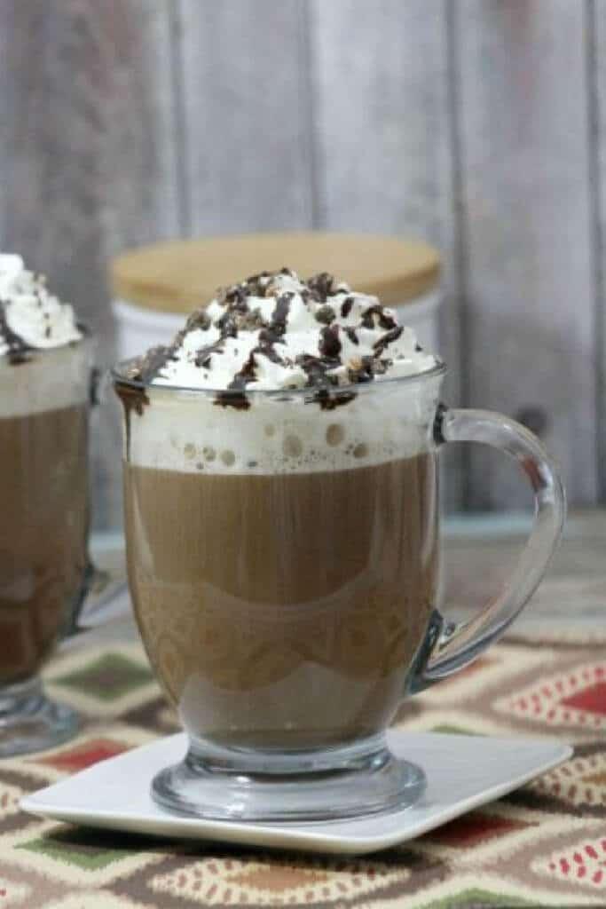 Mocha Cookie Latte Recipe