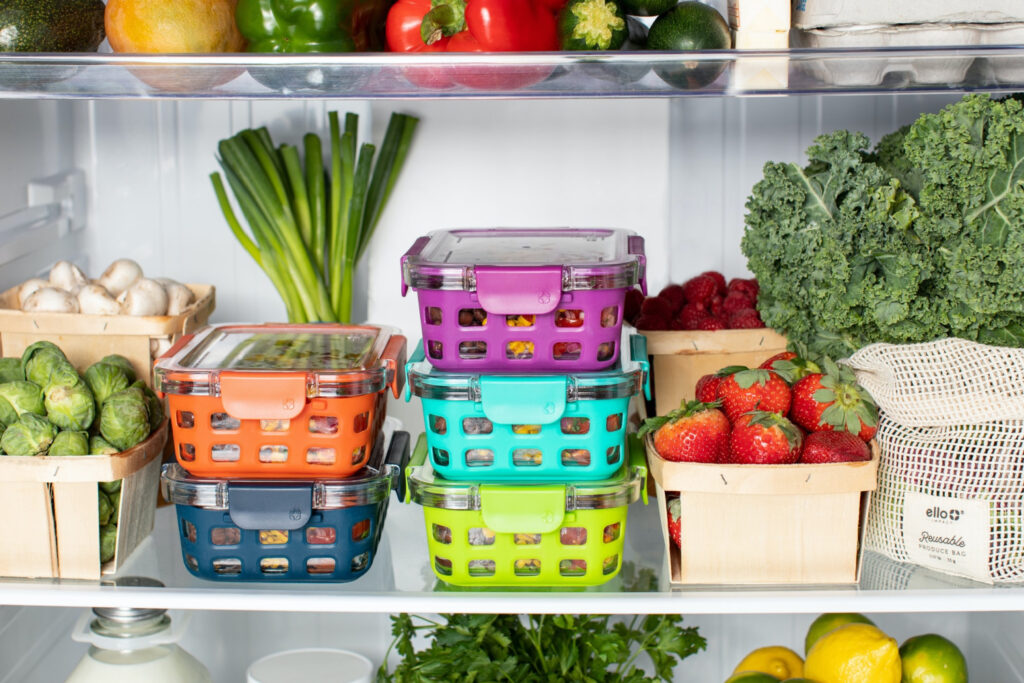 Shop your fridge first for meal planning
