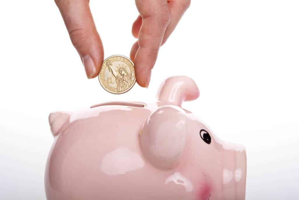 kids saving money - piggy back- teaching kids to save money
