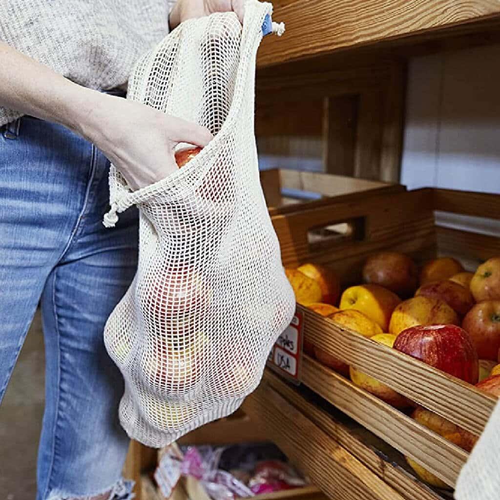 Reusable Produce bags - zero waste gift ideas