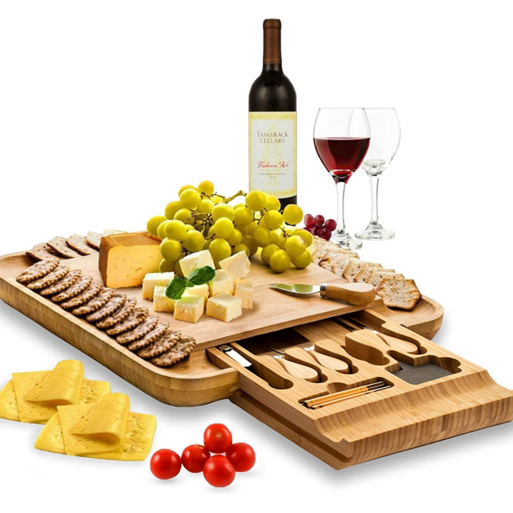 Cheese board set - gifts for the hostess