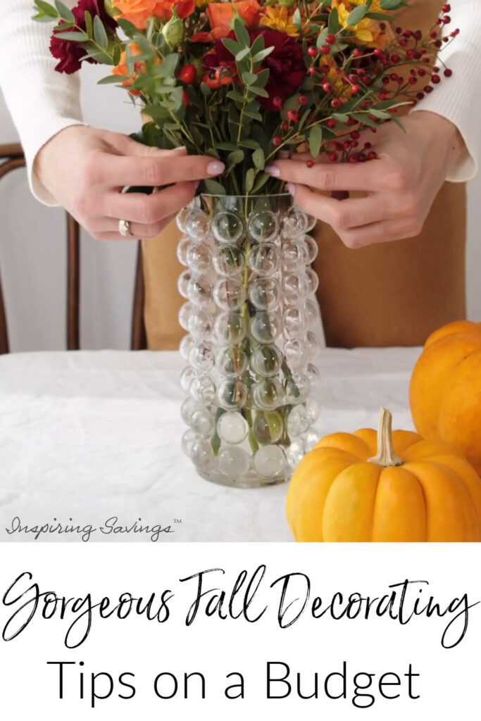 Decorating for fall season, but worried about the expense? These creative tips & ideas to spice up your space without spending a bundle.