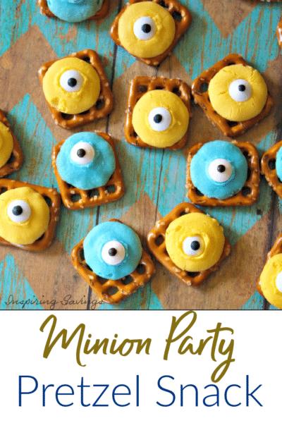 Minion Party Pretzel Snack